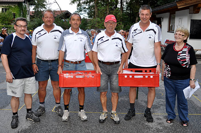 1. Rang: SV Langkampfen